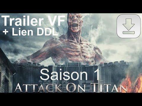 L'Attaque des Titans Saison 1 - Trailer VF + Liens de téléchargement direct