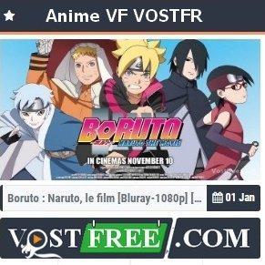 Vostfree - Animes VF et VOSTFR en Streaming