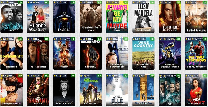 Top 8 sites de streaming gratuit pour films et séries VF en 2020