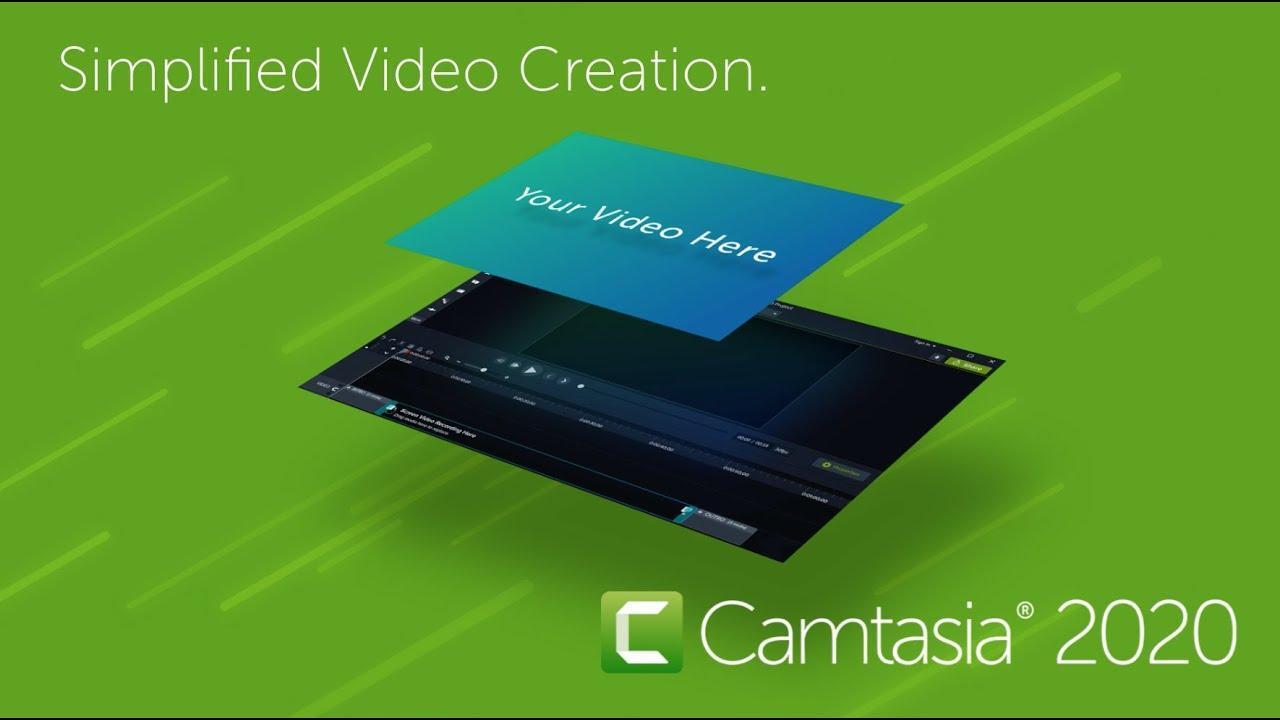 Télécharger Camtasia 2020